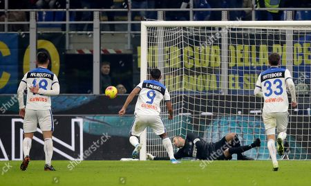 Editorial image of Soccer Serie A, Milan, Italy - 11 Jan 2020