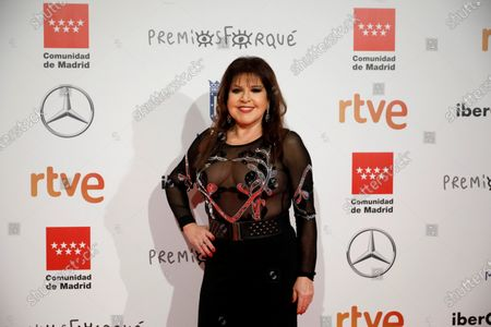 Loles Leon poses for the media as he attends the gala of the 25th Forque Awards held at IFEMA Convention and Exhibition Center in Madrid, Spain, 11 January 2020.