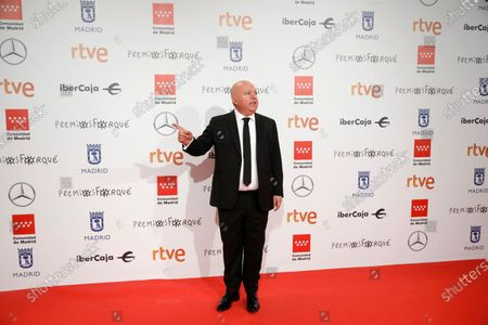 Agustin Almodovar poses for the media as he attends the gala of the 25th Forque Awards held at IFEMA Convention and Exhibition Center in Madrid, Spain, 11 January 2020.