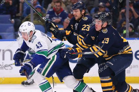 Editorial picture of Canucks Sabres Hockey, Buffalo, USA - 11 Jan 2020