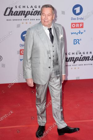 Roland Kaiser poses on the red carpet before the TV show 'Schlagerchampions 2020 - Das grosse Fest der Besten' (lit. The Big Festival of the Best) in Berlin, Germany, 11 January 2020.