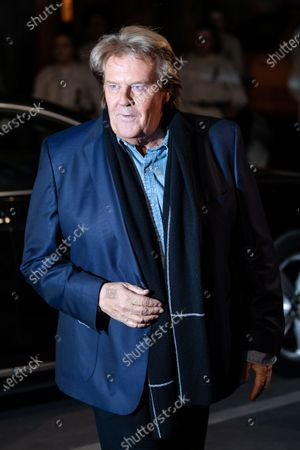 Howard Carpendale poses on the red carpet before the TV show 'Schlagerchampions 2020 - Das grosse Fest der Besten' (lit. The Big Festival of the Best) in Berlin, Germany, 11 January 2020.