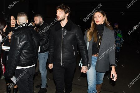 Stock Image of Stefano De Martino and Belen Rodriguez