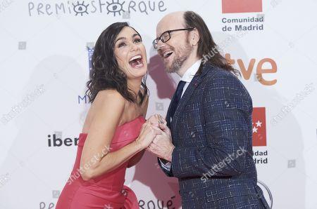 Elena Sanchez and Santiago Segura
