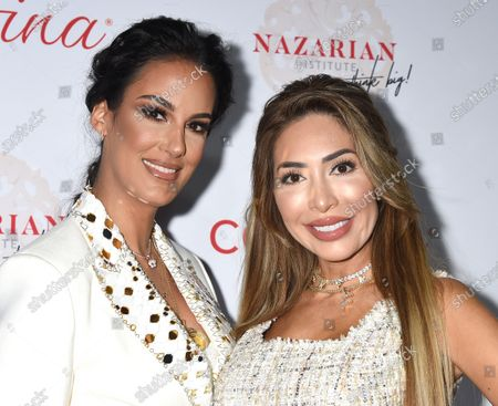 Stock Photo of Dr. Shiela Nazarian and Farrah Abraham