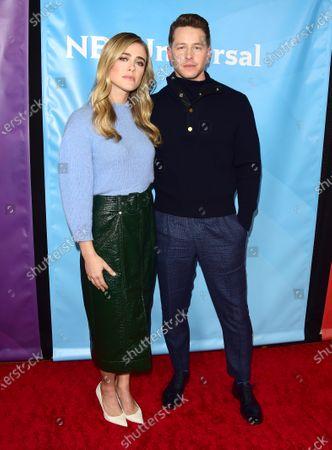 Stock Photo of Melissa Roxburgh and Josh Dallas