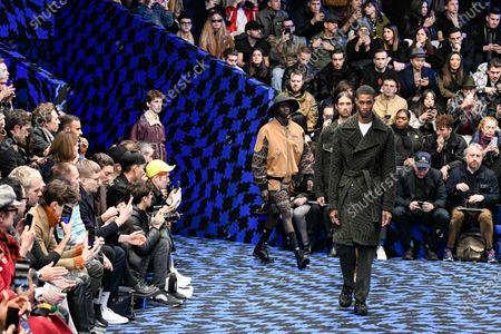 Editorial picture of Marcelo Burlon show, Runway, Autumn Winter 2020, Milan Fashion Week Men's, Italy - 11 Jan 2020