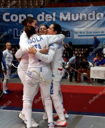 Editorial image of Women's Epee World Cup in Havana, Cuba - 12 Jan 2020