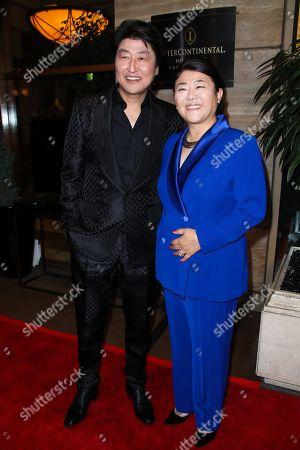 Kang-Ho Song and Lee Jung-eun