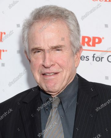 Stock Image of Warren Beatty