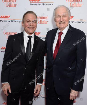 Tony Danza and Alan Alda