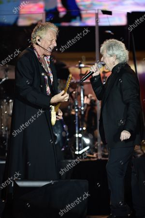 Stock Image of Air Supply - Graham Russell, left and Russell Hitchcock