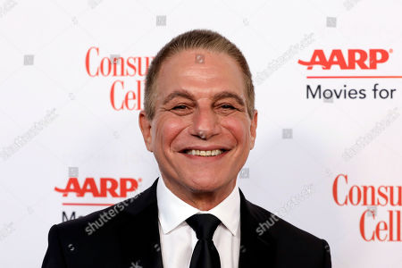 Tony Danza attends the AARP 19th Annual Movies For Grownups Awards at the Beverly Wilshire Hotel, in Beverly Hills, Calif
