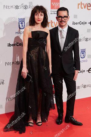 Stock Image of Cecilia Suarez and Manolo Caro