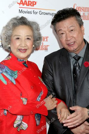 Zhao Shuzhen and Tzi Ma