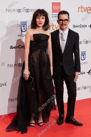 Cecilia Suarez and director Manolo Caro