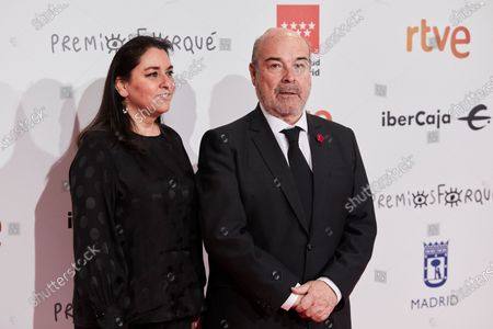 Antonio Resines and Marisol de Mateo