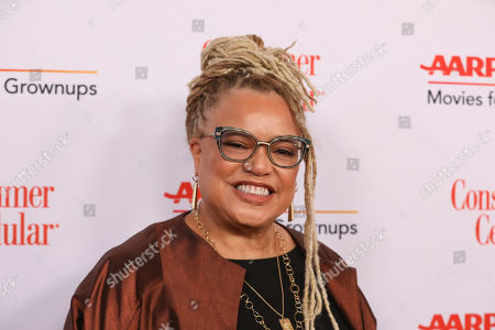 Stock Photo of Kasi Lemmons attends the AARP 19th Annual Movies For Grownups Awards at the Beverly Wilshire Hotel, in Beverly Hills, Calif