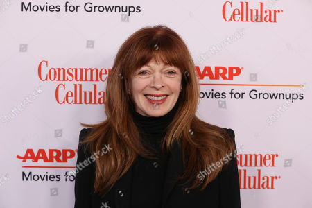 Stock Image of Frances Fisher attends the AARP 19th Annual Movies For Grownups Awards at the Beverly Wilshire Hotel, in Beverly Hills, Calif