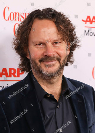 Ram Bergman attends the AARP 19th Annual Movies For Grownups Awards at the Beverly Wilshire Hotel, in Beverly Hills, Calif