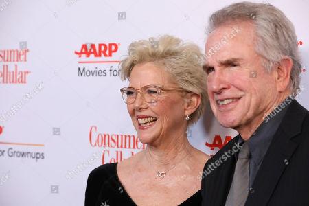 Annette Bening, Warren Beatty. Annette Bening and Warren Beatty attend the AARP 19th Annual Movies For Grownups Awards at the Beverly Wilshire Hotel, in Beverly Hills, Calif