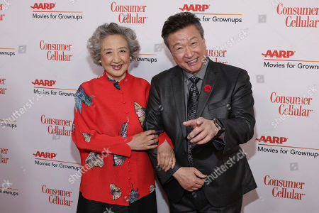Zhao Shuzhen, Tzi Ma. Zhao Shuzhen and Tzi Ma attend the AARP 19th Annual Movies For Grownups Awards at the Beverly Wilshire Hotel, in Beverly Hills, Calif