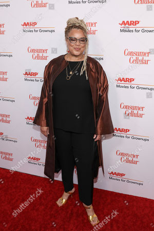 Kasi Lemmons attends the AARP 19th Annual Movies For Grownups Awards at the Beverly Wilshire Hotel, in Beverly Hills, Calif