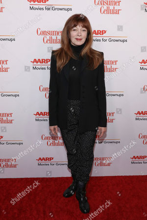 Stock Picture of Frances Fisher attends the AARP 19th Annual Movies For Grownups Awards at the Beverly Wilshire Hotel, in Beverly Hills, Calif