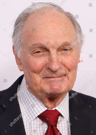 Alan Alda attend the AARP 19th Annual Movies For Grownups Awards at the Beverly Wilshire Hotel, in Beverly Hills, Calif
