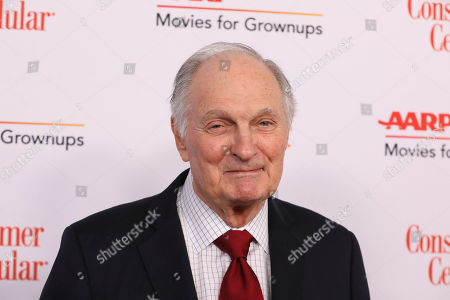 Stock Photo of Alan Alda attend the AARP 19th Annual Movies For Grownups Awards at the Beverly Wilshire Hotel, in Beverly Hills, Calif