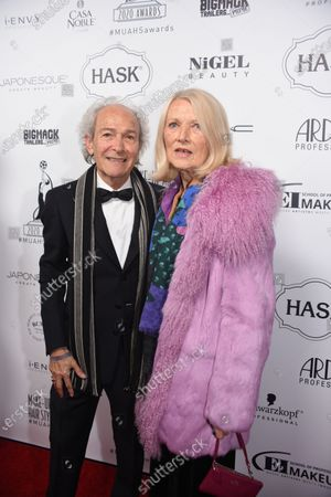 Stock Photo of Martin Samuel and Mary Samuel