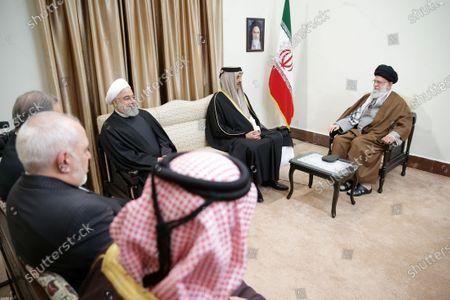 Editorial image of Emir of Qatar Sheikh Tamim bin Hamad al-Thani visits Tehran, Iran Islamic Republic Of - 12 Jan 2020