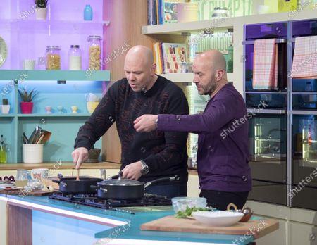 Editorial image of 'Sunday Brunch' TV show, London, UK - 12 Jan 2020