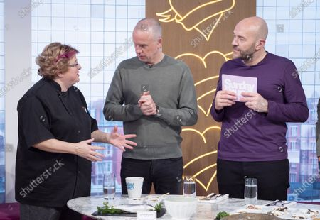 CJ Jackson, Tim Lovejoy and Simon Rimmer