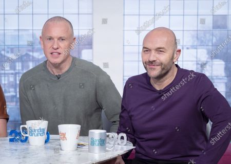 Stock Photo of Tim Lovejoy and Simon Rimmer