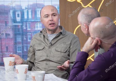 Karl Pilkington, Tim Lovejoy and Simon Rimmer