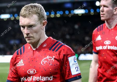 Racing 92 vs Munster. Munster's Keith Earls after the game