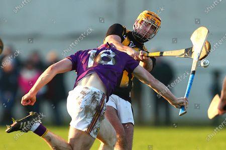 Kilkenny vs Wexford. Billy Ryan of Kilkenny with Wexford's Michael Furlong