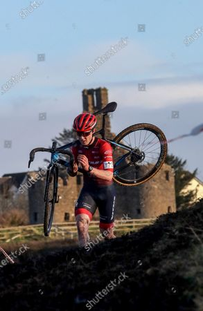 Darnell Moore of Vitus Pro Cycling in the mens senior race pictured at the Cycling Ireland Cyclocross National Championships in Enniscrone, Co. Sligo. The event was hosted by Ballina Cycling Club and catered for cyclists ranging from under 6 to over 60