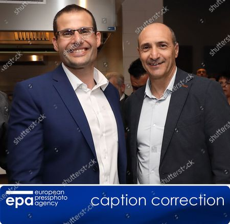 (CORRECTION) - This is to amend image epa08122305 issued on 12 January 2020 correcting location to St. Paul's Bay (not: Sannat, Gozo). The revised caption reads:   (FILE) - New Labour Party leader Robert Abela (L) together with Chris Fearne (R) whom he beat in the race to replace outgoing Prime Minister Dr. Joseph Muscat (not in picture) during a Partit Laburista (Labour Party) event in St. Paul's Bay, Malta, 13 December 2019 (reissued 12 January 2020). Abela was elected as the new Malta Prime Minister and Malta Partit Laburista (Labour Party) leader in Malta in the early hours of 12 January 2020.