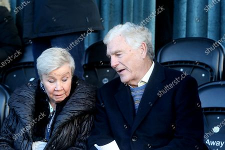 Sir Trevor Brooking takes up his seat during Tottenham Hotspur Women vs West Ham United Women, Barclays FA Women's Super League Football at the Hive Stadium on 12th January 2020