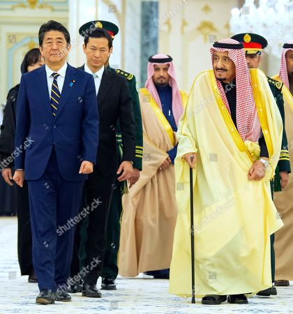 Editorial photo of Saudi Japan, Riyadh, Saudi Arabia - 12 Jan 2020