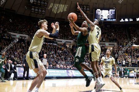 Editorial image of Michigan St Purdue Basketball, West Lafayette, USA - 12 Jan 2020