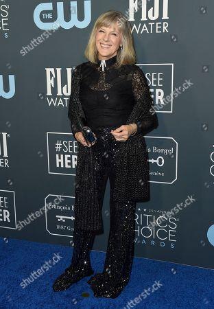 Mimi Kennedy arrives at the 25th annual Critics' Choice Awards, at the Barker Hangar in Santa Monica, Calif