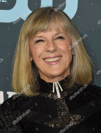 Stock Photo of Mimi Kennedy arrives at the 25th annual Critics' Choice Awards, at the Barker Hangar in Santa Monica, Calif