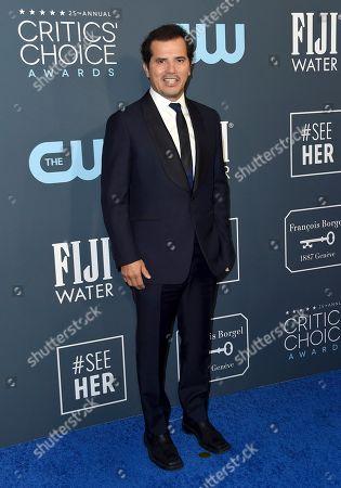 John Leguizamo arrives at the 25th annual Critics' Choice Awards, at the Barker Hangar in Santa Monica, Calif