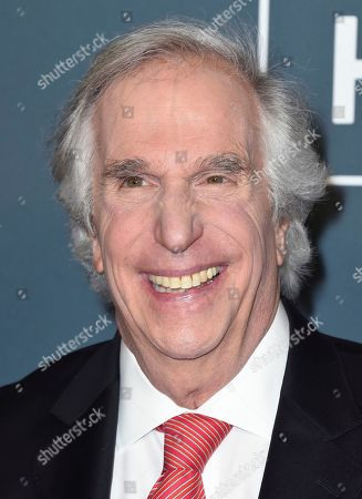 Henry Winkler arrives at the 25th annual Critics' Choice Awards, at the Barker Hangar in Santa Monica, Calif