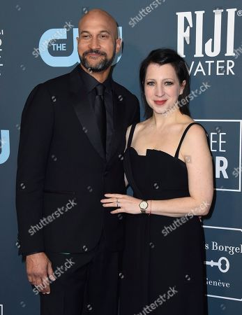 Keegan-Michael Key, Elisa Key. Keegan-Michael Key, left, and Elisa Key arrives at the 25th annual Critics' Choice Awards, at the Barker Hangar in Santa Monica, Calif
