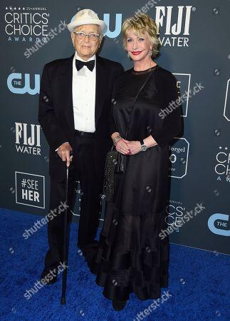 Norman Lear, Lyn Lear. Norman Lear, left, and Lyn Lear arrive at the 25th annual Critics' Choice Awards, at the Barker Hangar in Santa Monica, Calif