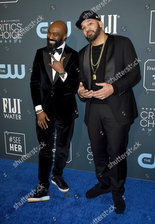 Desus Nice, The Kid Mero. Desus Nice, left, and The Kid Mero arrive at the 25th annual Critics' Choice Awards, at the Barker Hangar in Santa Monica, Calif
